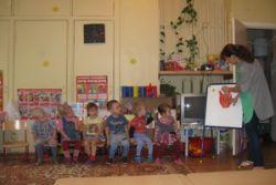 В младшей группе «Ромашка» прошло знакомство с правилами пожарной безопасности