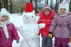 Группа «Родничок» встретила зиму
