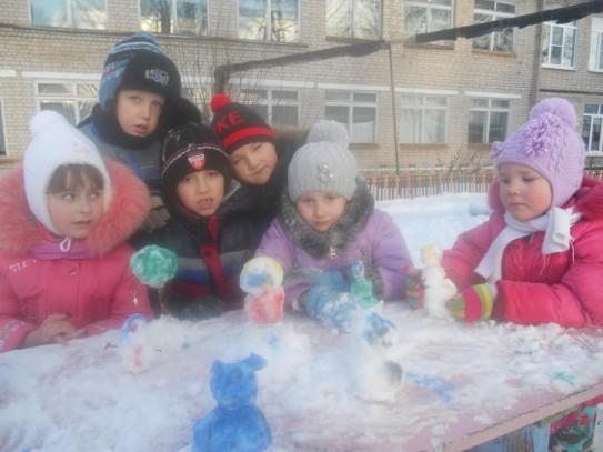 Подготовительная группа «Колокольчики»: «Пришла зима»