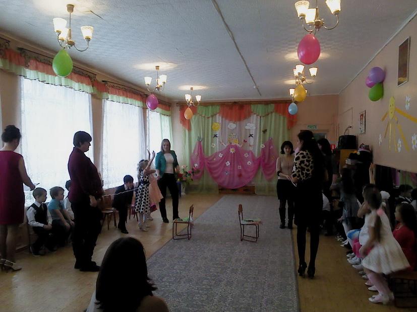 Утренник, посвященный 8 марта в группе «Родничок»