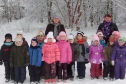 Зимняя экскурсия по экологической тропе с детьми старшей группы «Лунтики»