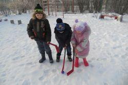 Зима в группе «Лунтики»